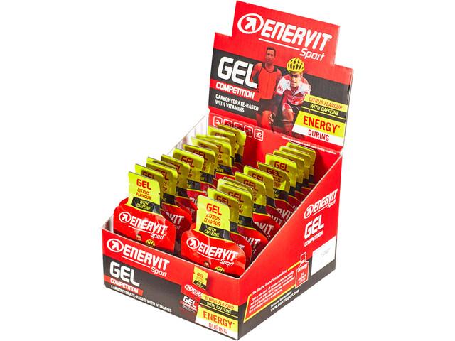 Enervit Sport Gel Kotelo 24x25ml, Citrus with Caffeine